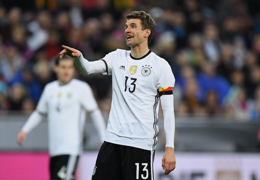 Thomas Muller como capitán de la Selección Alemana