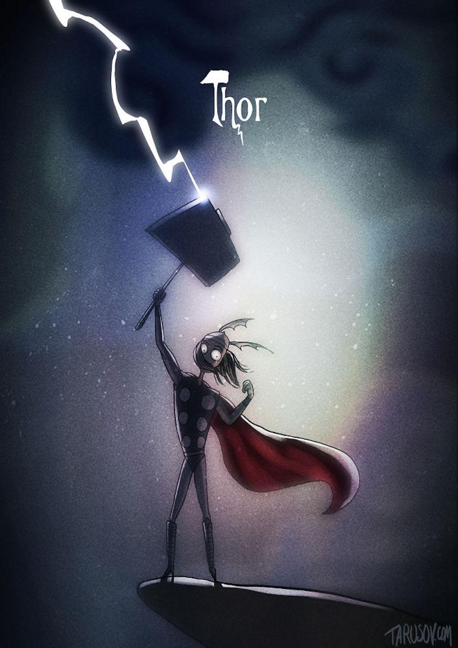 Tim Burton - Thor