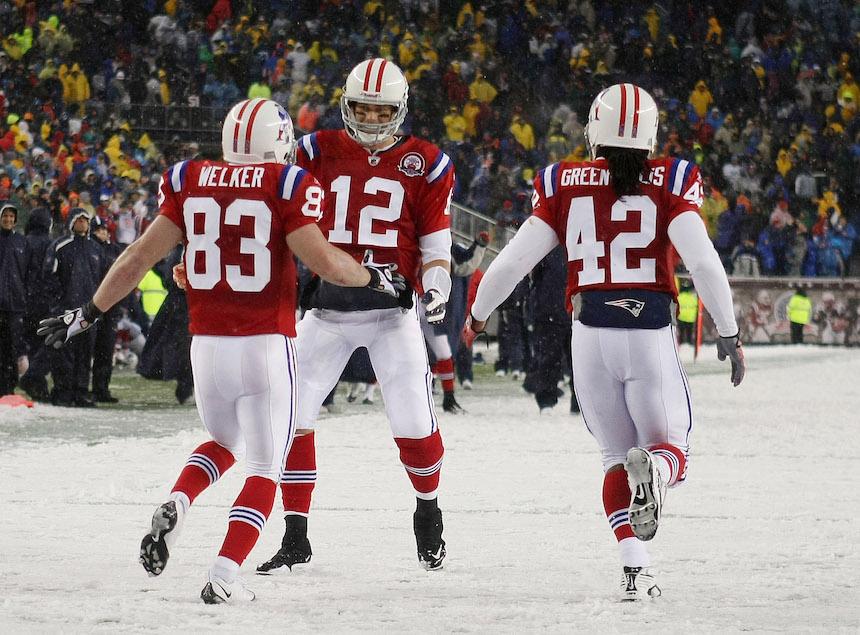 Tom Brady y Wes Welker fueron compañero durante 6 temporadas en la NFL
