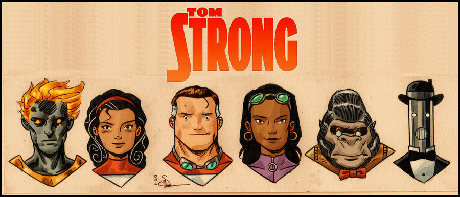 Alan Moore - tom Strong