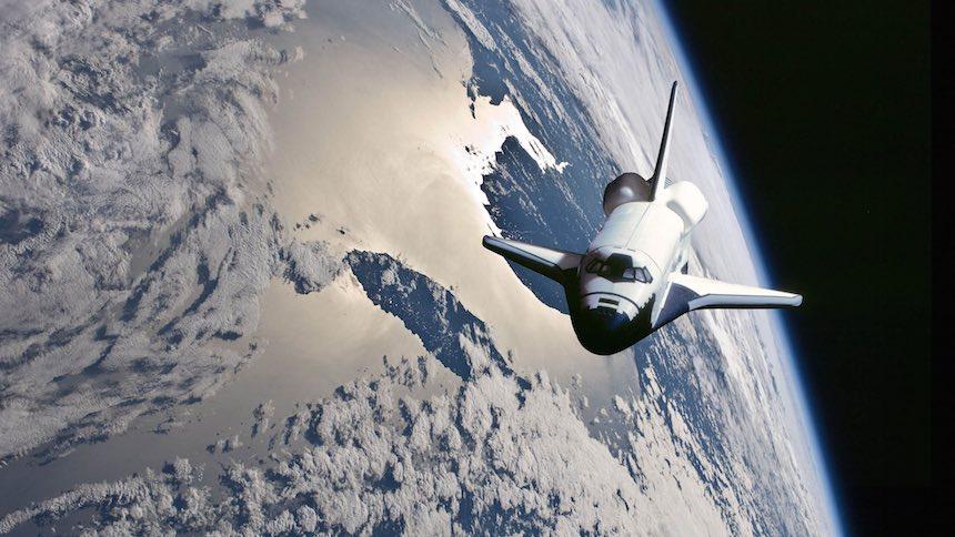 Transbordador Espacial Tierra
