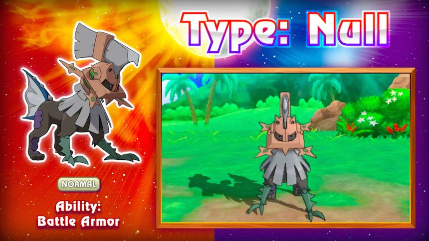 Type-Null Pokémon Sun/Moon