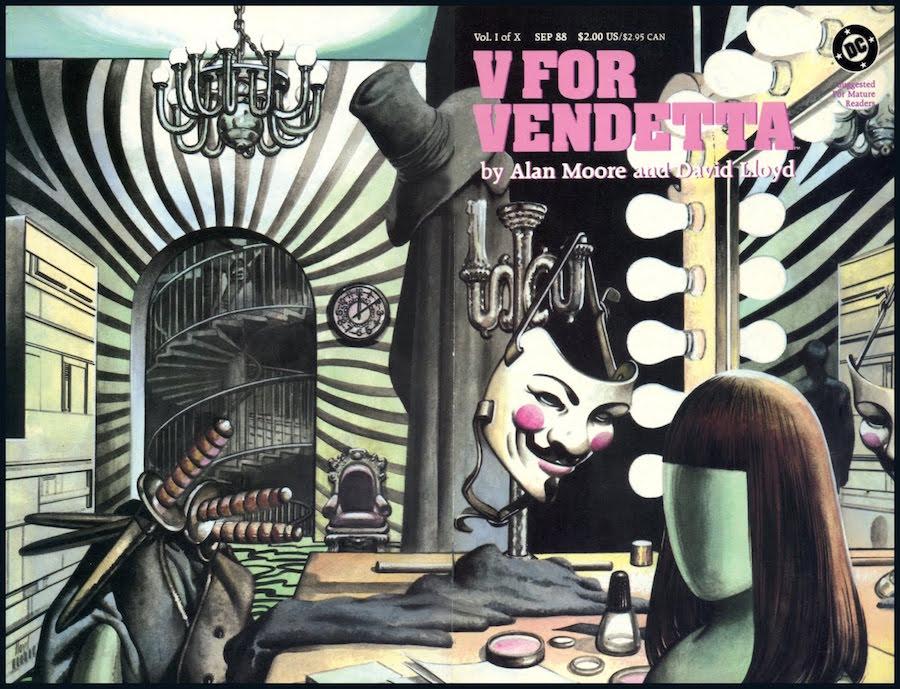 Alan Moore - V for Vendetta