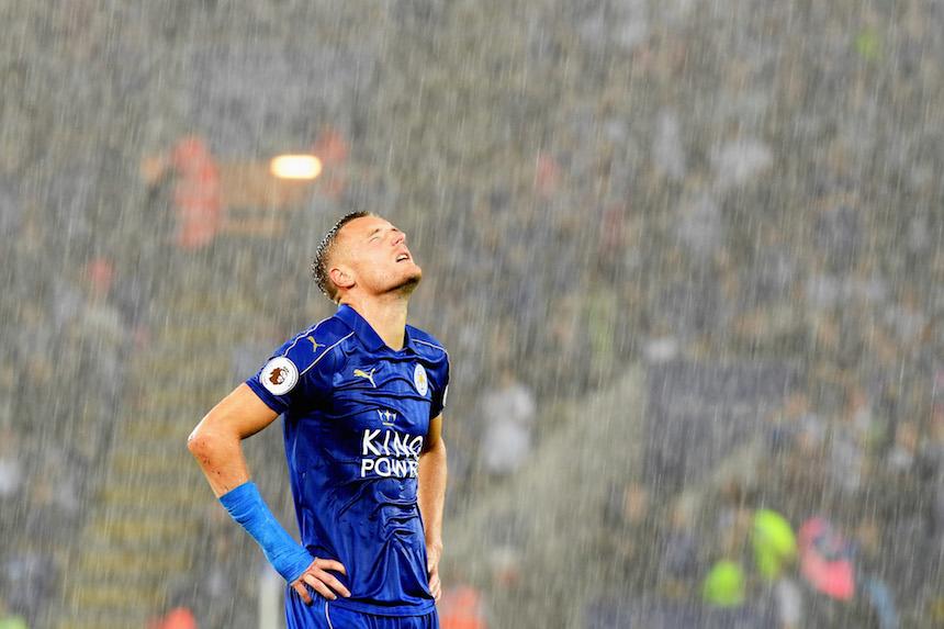 Jamie Vardy y el Leicester City van a debutar