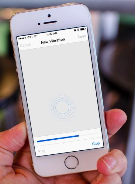 Vibración iPhone