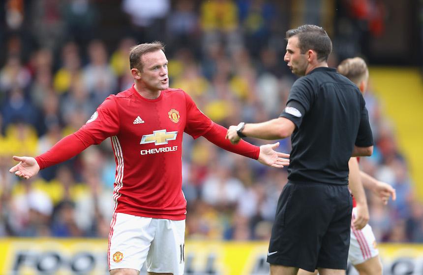 Wayne Rooney no ha jugado de la forma esperada