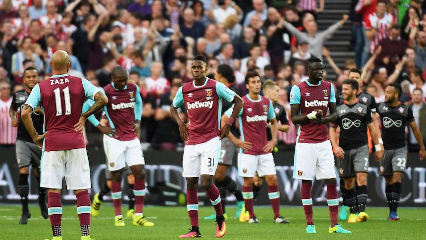 El West Ham United ha sido la peor decepción de la campaña