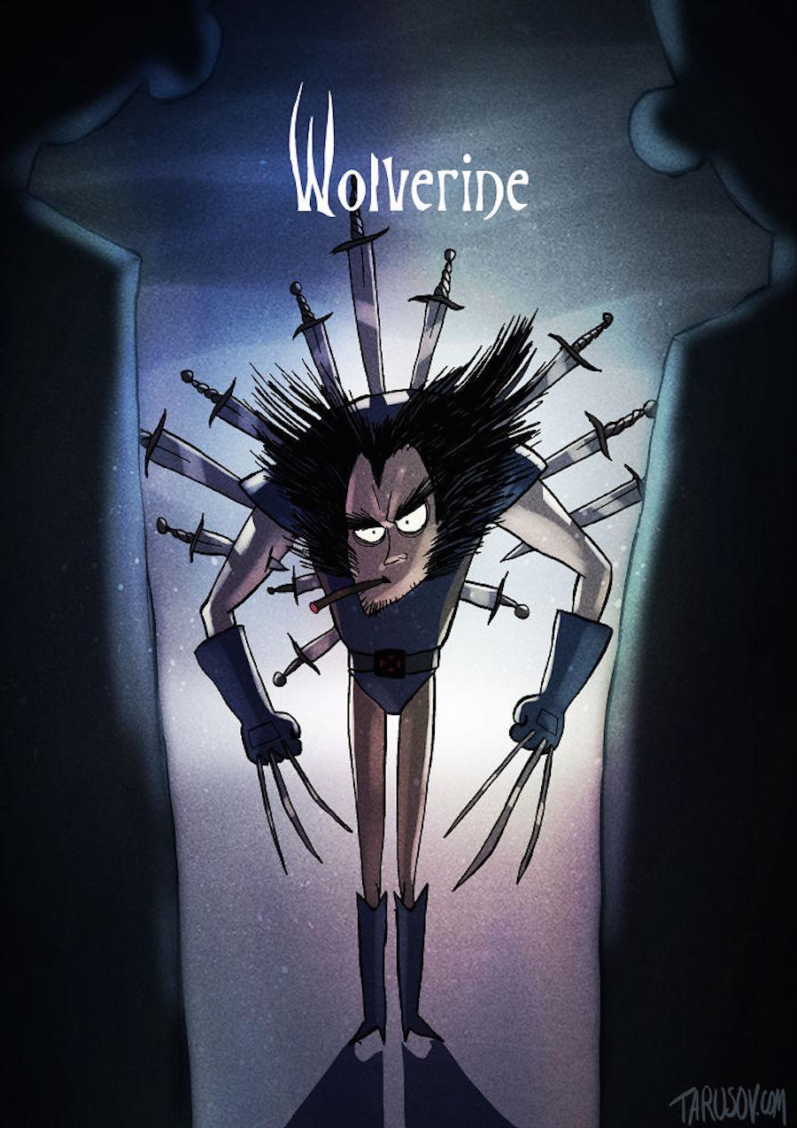 Tim Burton - Wolverine