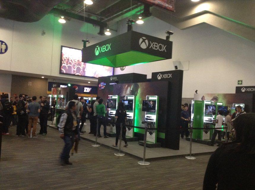 Xbox Mole Comic-Con
