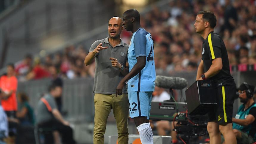Yaya Toure y Pep Guardiola no han podido solucionar sus problemas