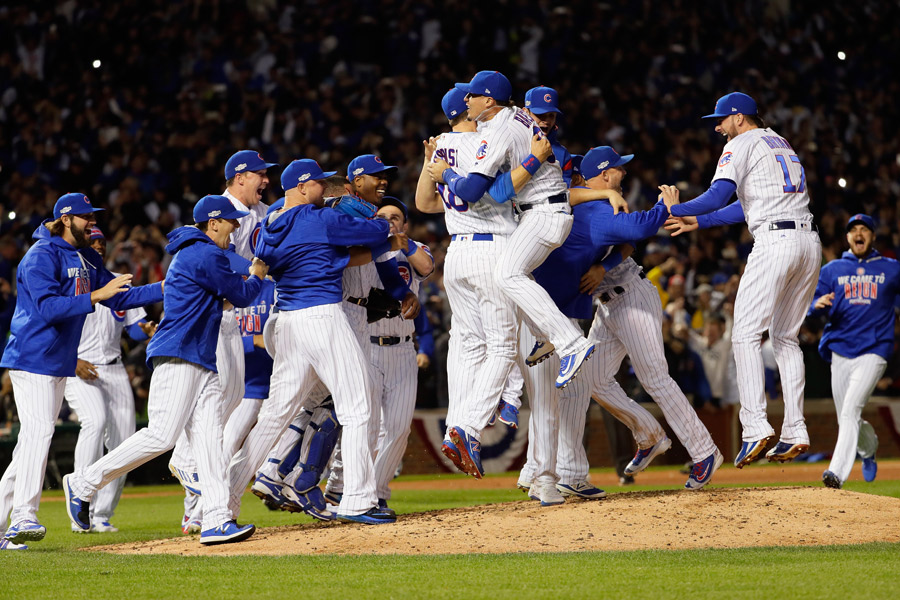 Chicago Cubs festejan su pase a la Seri Mundial