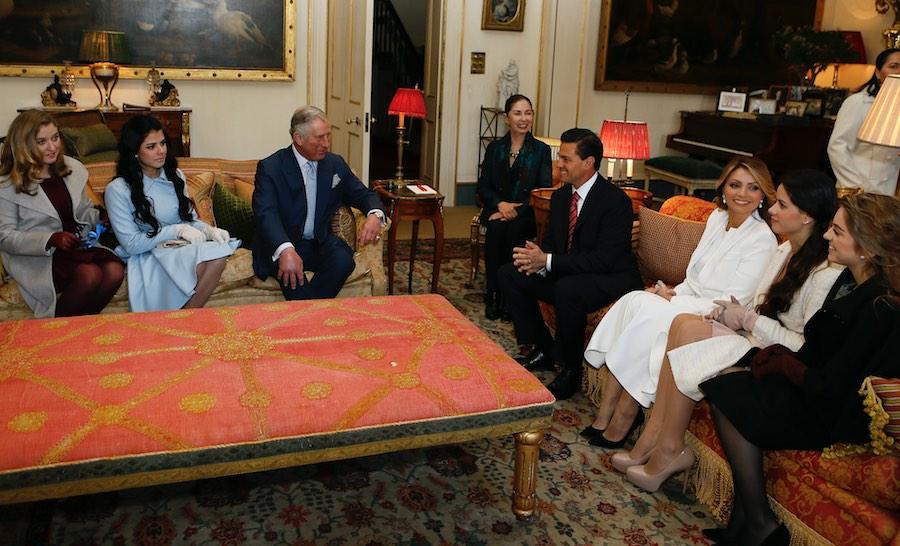 Angélica Rivera y Enrique Peña Nieto - Familia - Príncipe Carlos.