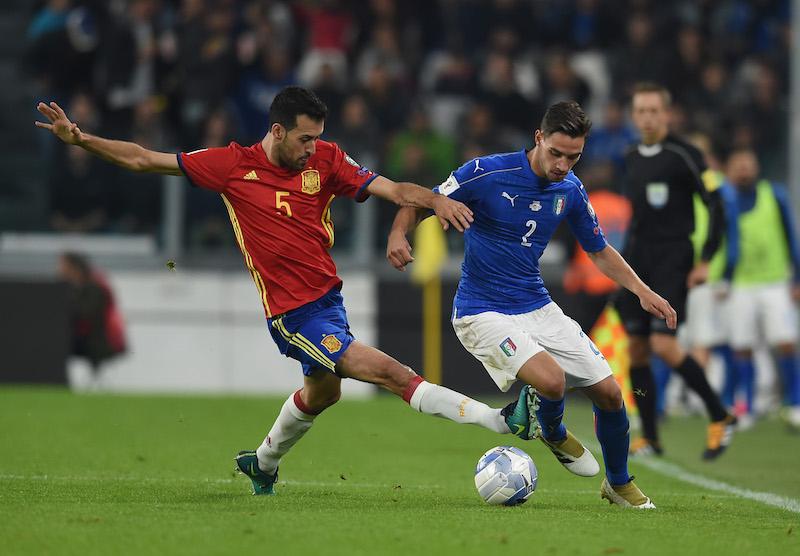 Italia contra España en Fecha FIFA