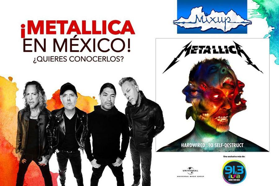 Metallica regresa a México