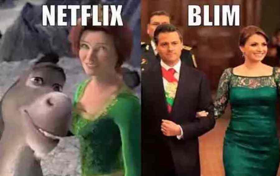 Netflix - Blim.