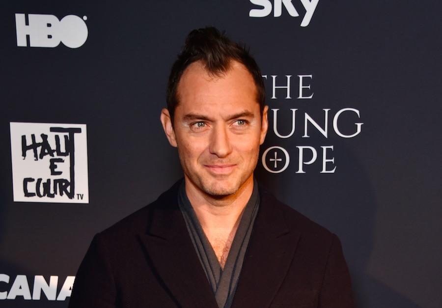 Actor Jude Law