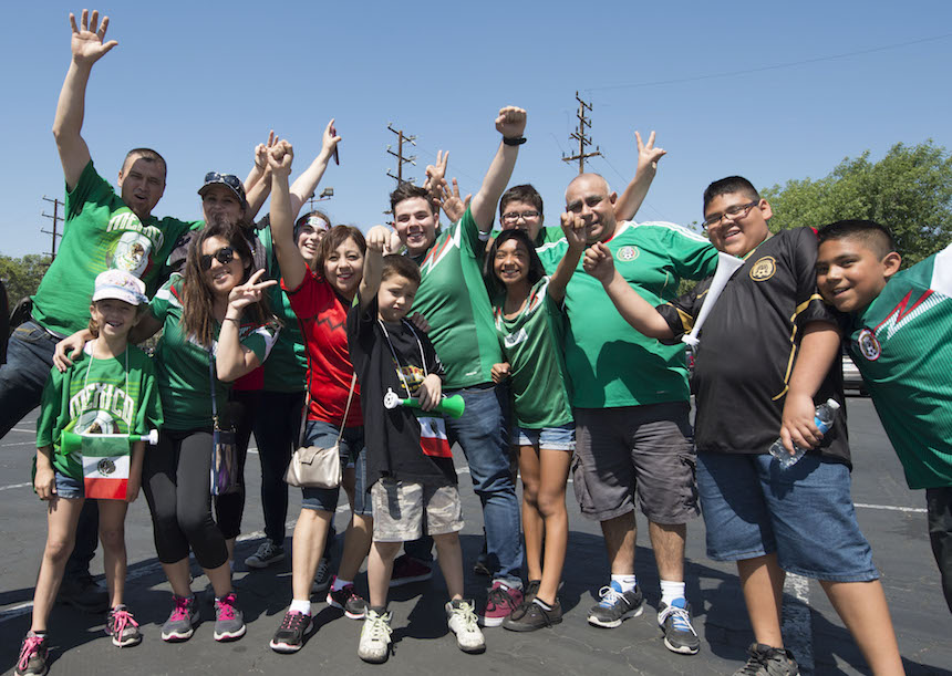 Aficionados de la Selección Mexicana de Futbol