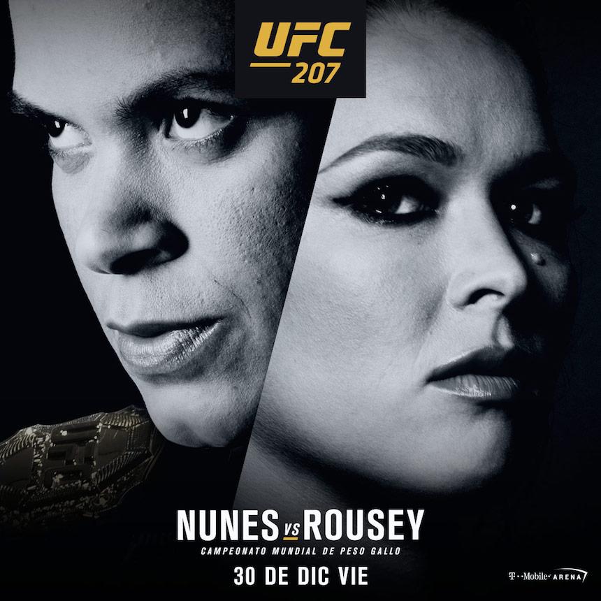 Amanda Nunes vs Ronda Rousey
