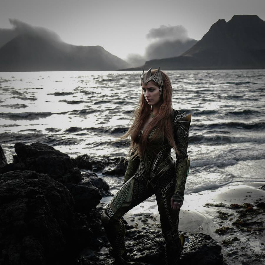 Amber Heard como Mera