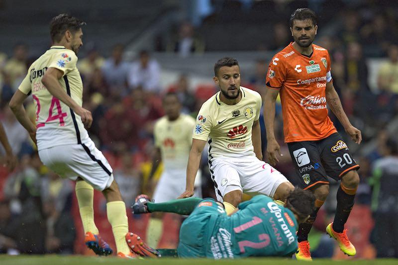 América contra Jaguares Copa MX