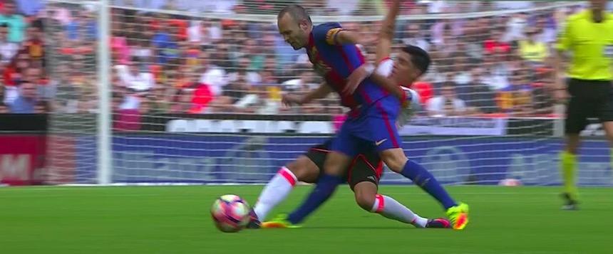Tragedia Mundial: la grave lesión de Andrés Iniesta