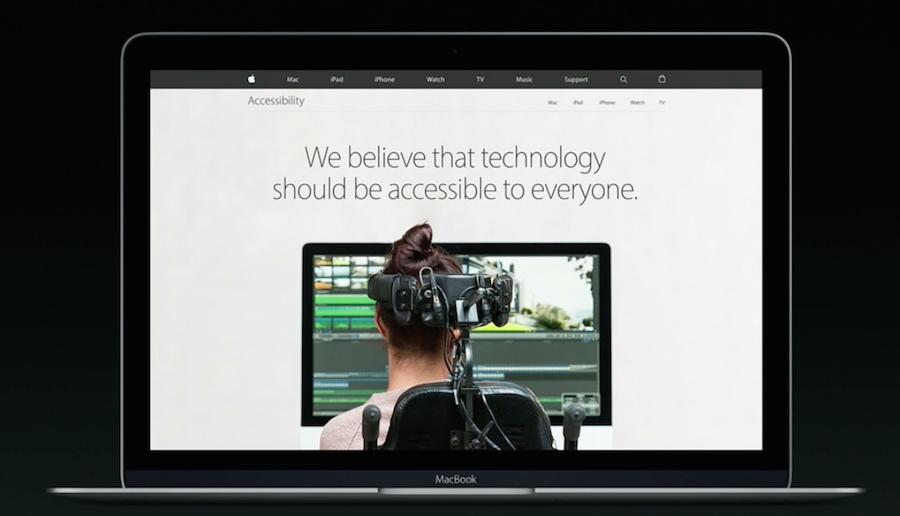 Accesibilidad en Apple