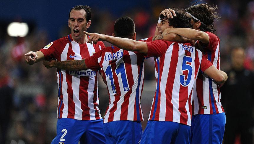 Atlético de Madrid tienen los mismos colores que el Bilbao