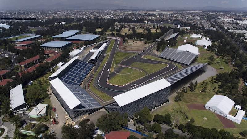 ¡A 10 días de la Fórmula 1 en México, fuimos a recorrer la pista y ya está todo listo!