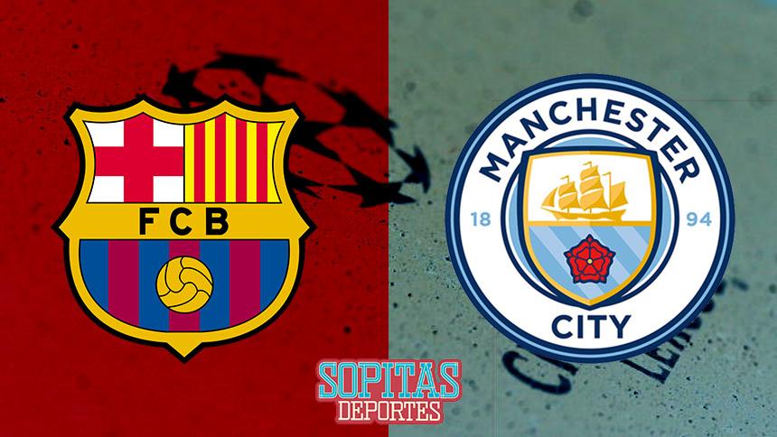 Barcelona contra Manchester City: el duelo de hoy en la Champions League en vivo