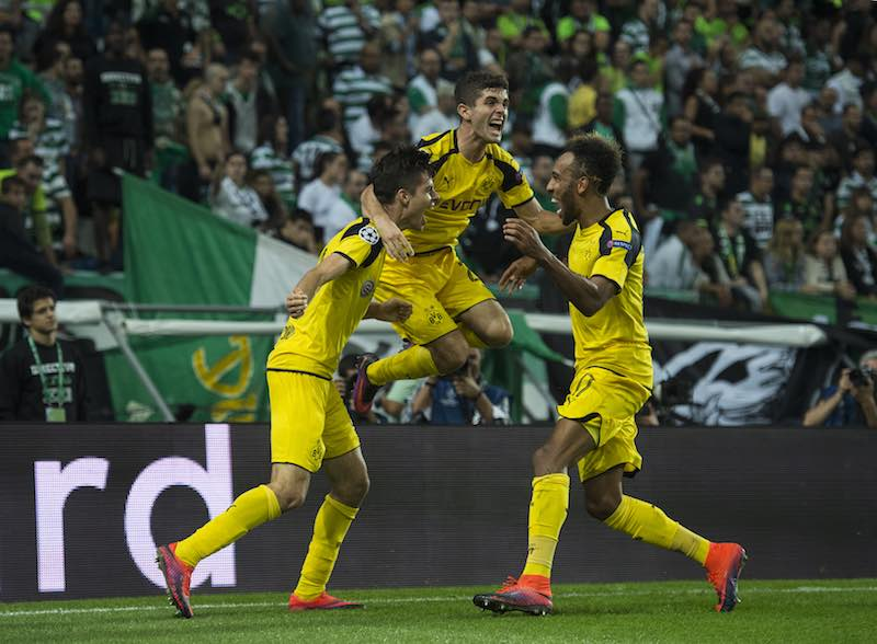 Borussia gana en Champions