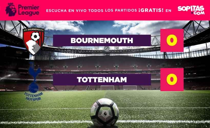 Bournemouth igualó contra el Tottenham y evitó que los Spurs se quedaran con el liderato