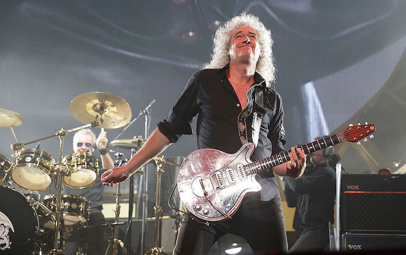 Brian May tuvo que cancelar su tour como solista por cuestiones de salud