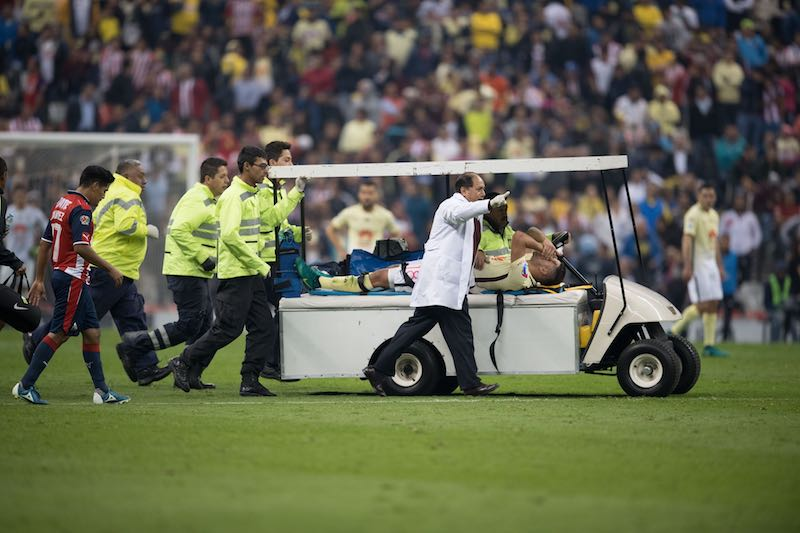 Y sigue la mata dando: tras su lesión, Bruno Valdez es baja del América por medio año