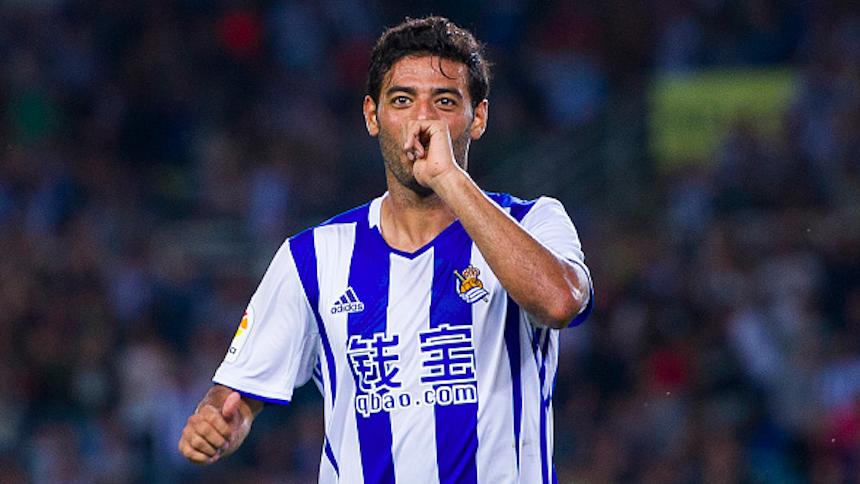 Carlos Vela sigue con la racha y volvió a anotar con la Real Sociedad