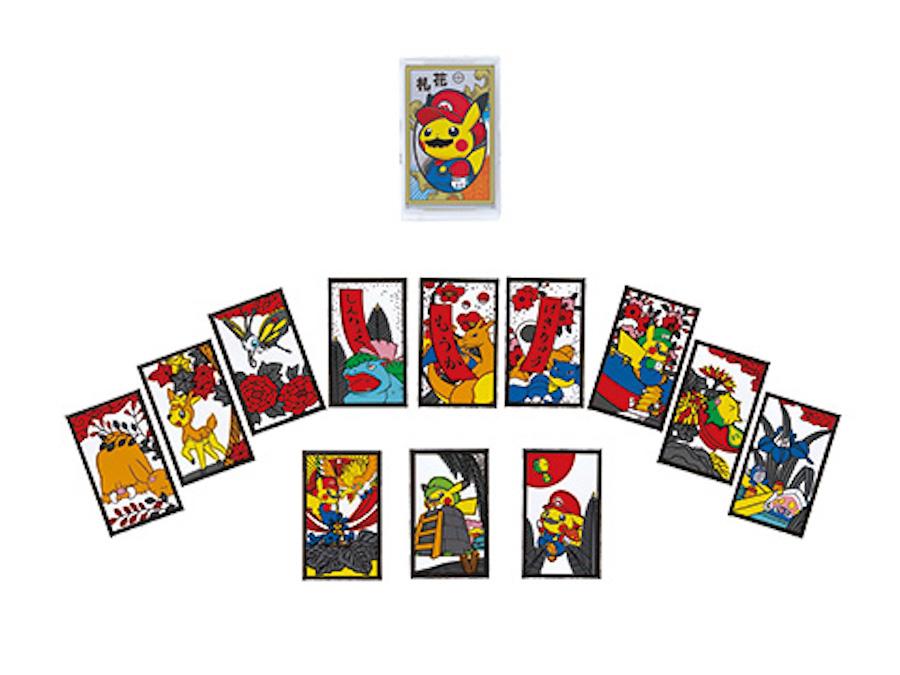 Juego de cartas - Mario Pikachu