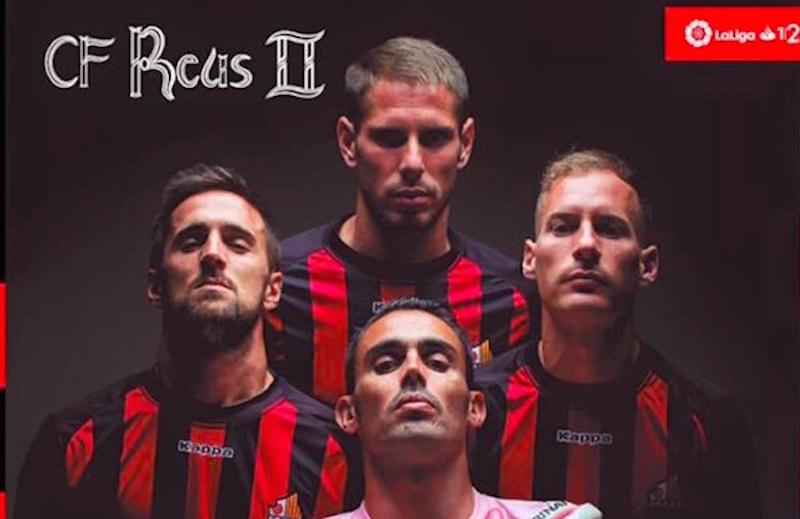 De futbolistas a rockstars: los increíbles póster del CF Reus Deportiu