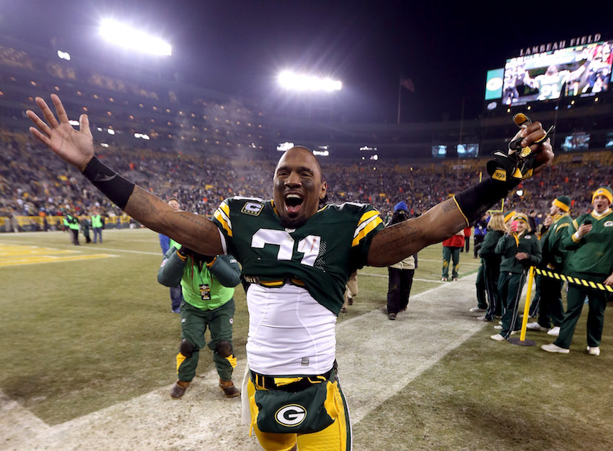 Charles Woodson con los Packers