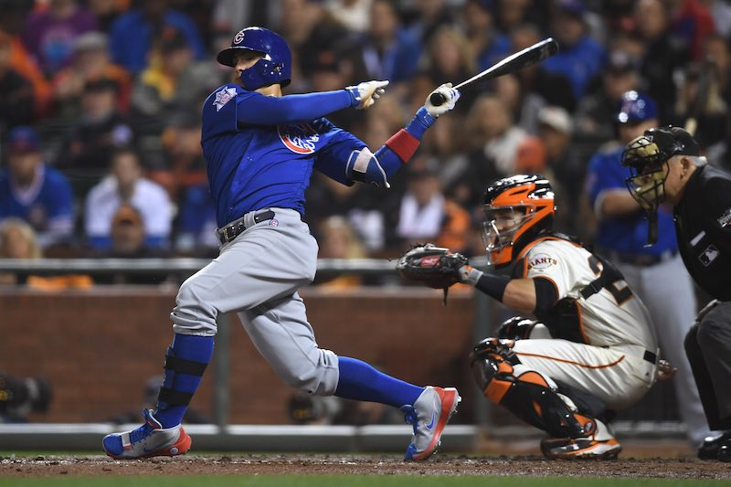 Chicago Cubs contra San Francisco Giants