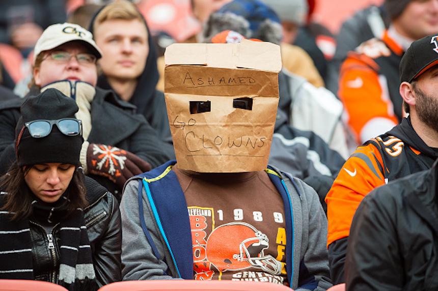 Cleveland Browns fan