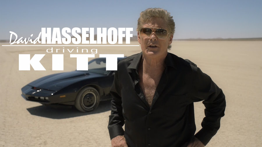 David Hasselhoff y Kitt