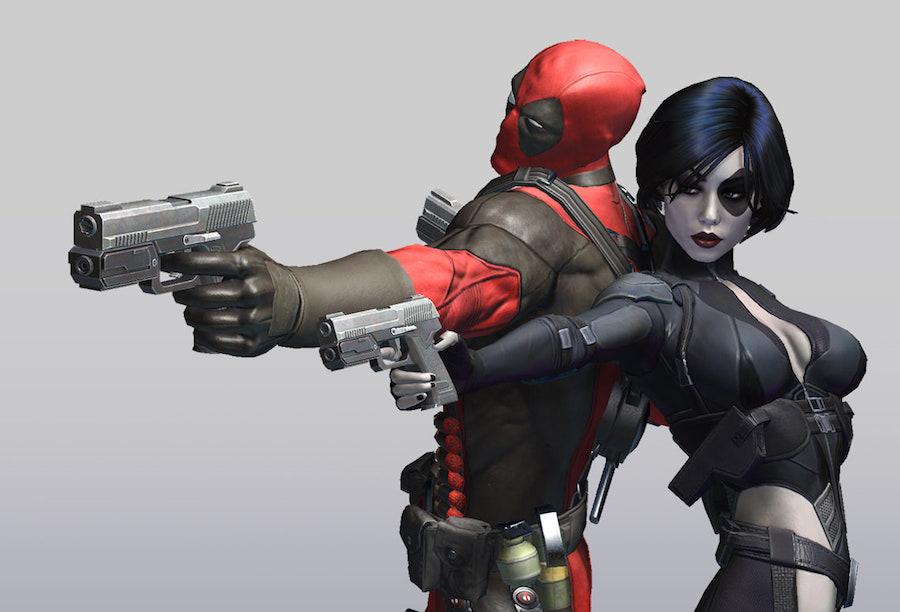 Deadpool y Domino