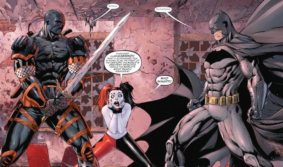 Deathstroke vs Batman