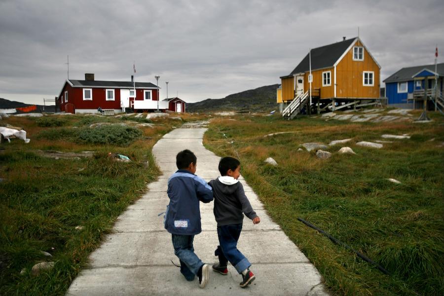 Groenlandia está en peligro de desaparecer como la conocemos: sus glaciares están desapareciendo desde abajo