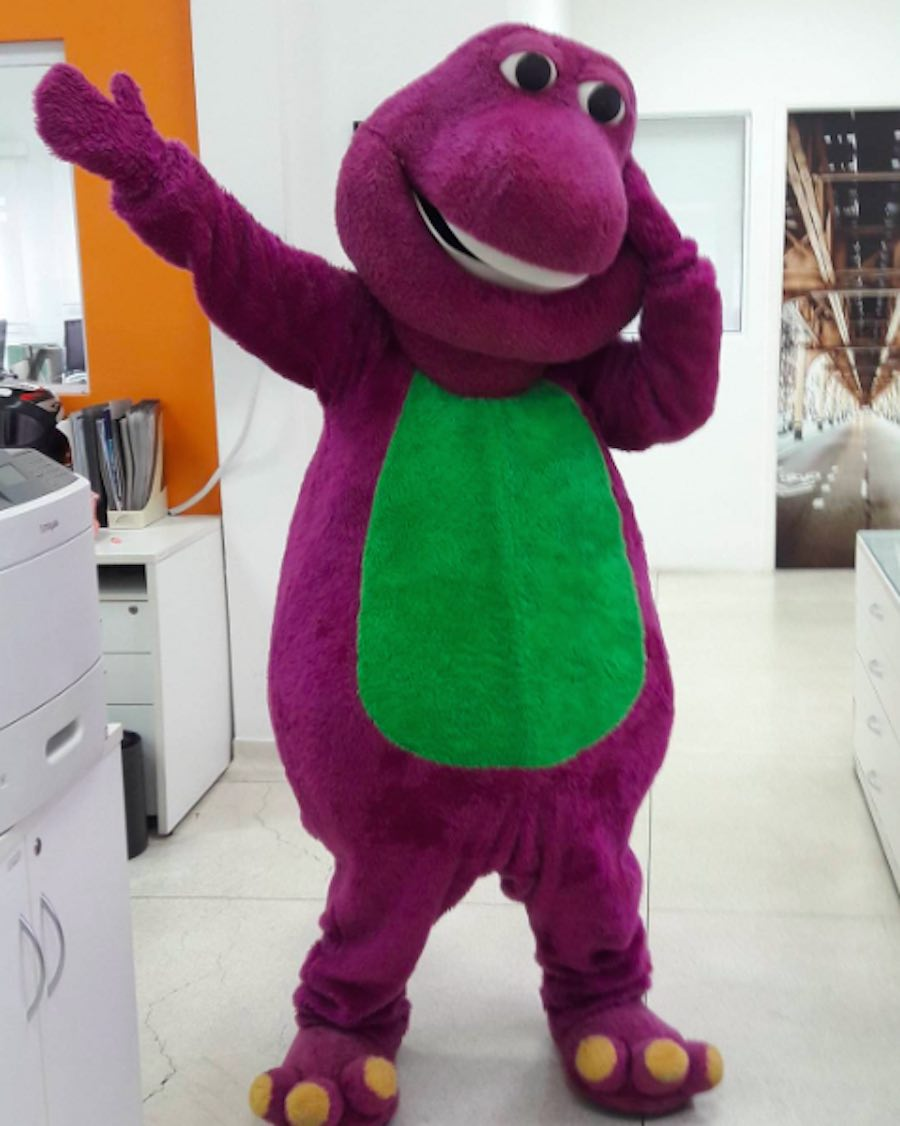 Disfraz - Barney