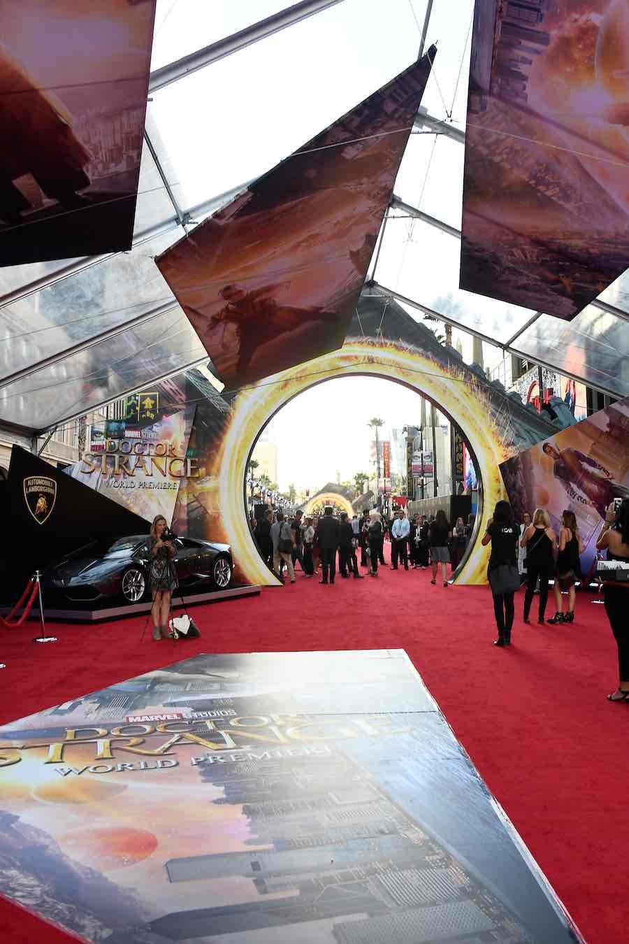 Doctor Strange Premiere Hollywood