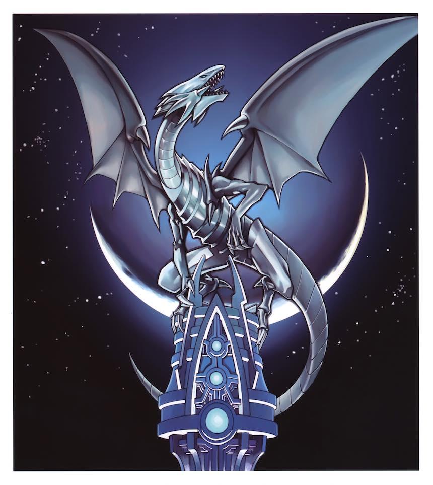Dragón Blanco de Ojos Azules Yu Gi Oh!