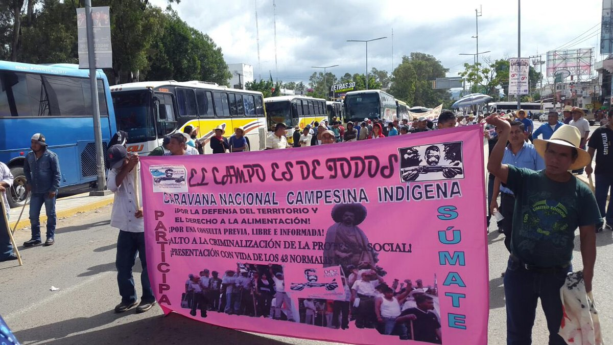 El movimiento 'El Campo es de Todos' realizará una serie de marchas por la CDMX