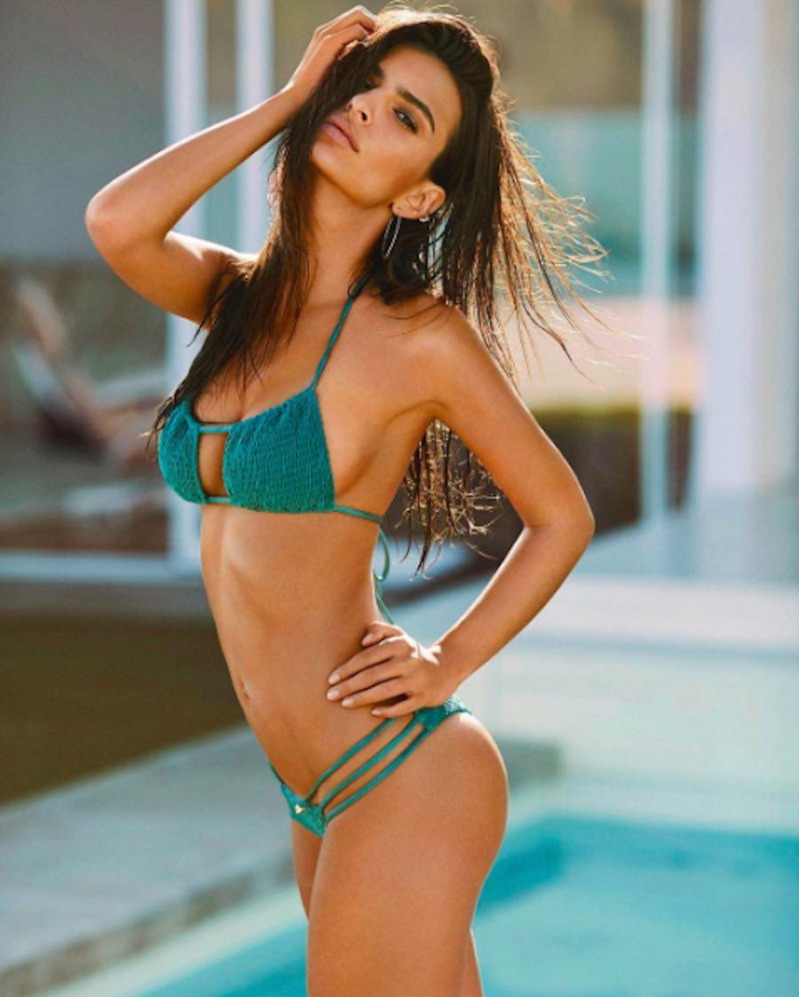 Emily Ratajkowski en bikini