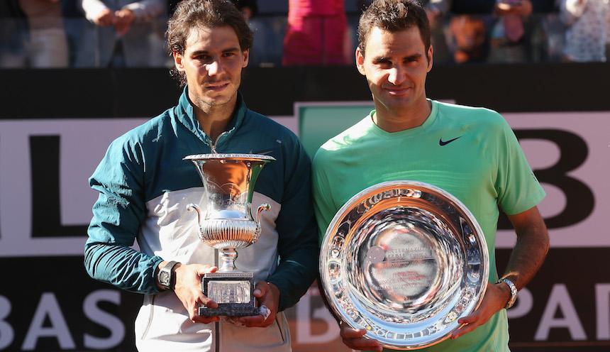 Roger Federer y Rafael Nadal ya no son los mismos de antes
