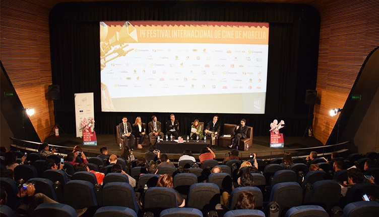 Festival Internacional de Cine de Morelia Presentación Cineteca Nacional